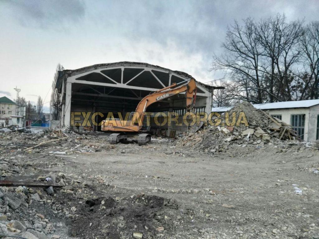 демонтаж будівель та споруд